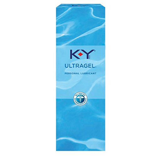 K-Y UltraGel Personal Lubricant, 1.5 oz.(pack of 3)