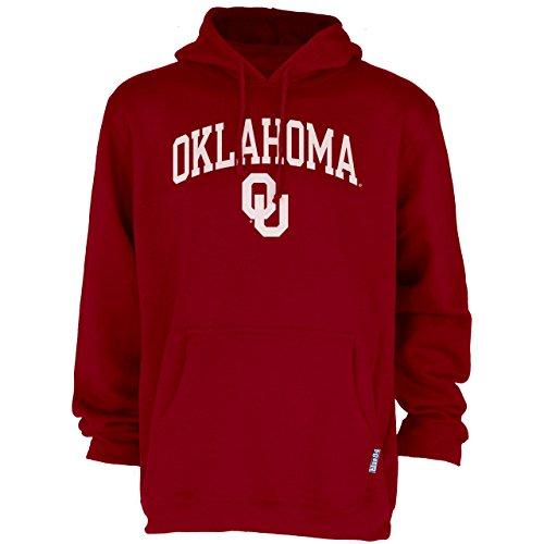 Hoody Sweatshirt Logo Blue Classic - Blue 84 Oklahoma Sooners Adult Arch Logo Classic Hoody - Cardinal, Medium