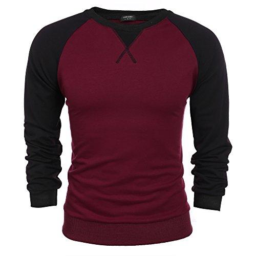 Coofandy Sleeve T shirt Casual Cotton