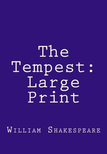 Read Online The Tempest: Large Print pdf epub