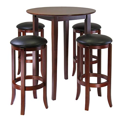 Used, Wood & Style Premium Décor Round 5pc High/Pub Table for sale  Delivered anywhere in USA