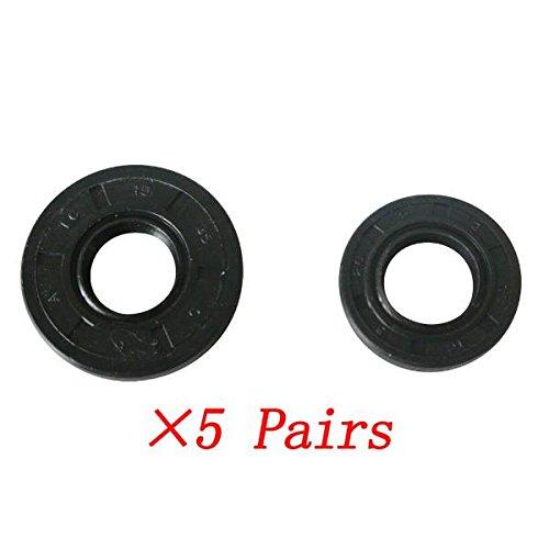 JRL 5Kit Bearing Oil Seal Kit Fit Chinese 4500 5200 5800 45cc 52cc Chainsaws Tarus Huang Machinery