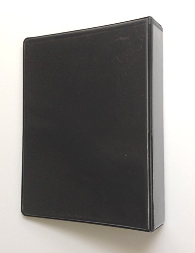 """Linco Little 3-Ring Black View-Binders, 8-1/2"""" x 5-1/2"""" S..."""