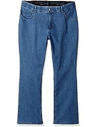 Women's Plus Size Stretch Fit No Gap Boot Cut Jean