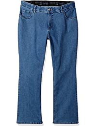 Riders by Lee Indigo womens plus-size Plus-size Stretch Fit No Gap Boot Cut Jean