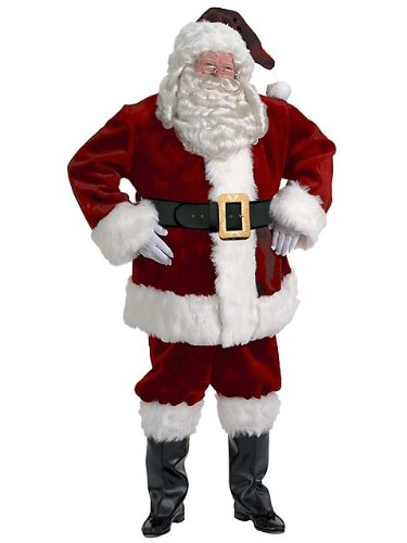 Halco Majestic Santa Suit XXL Adult Costume ()