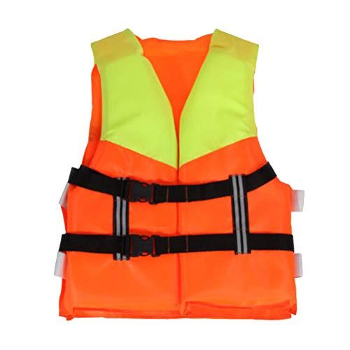 Funmix Professional Kids Life Vest,Adjustable Children Jacket Foam Swimming Boating Ski Safety Vest For Water Sports…