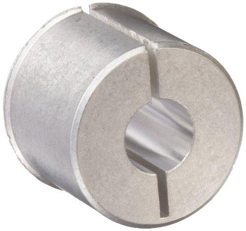 "Huco 259.27.Z Size 27 Huco-Lok Bore Reducer, Aluminum, Inch, 0.313"" Bore A, 0.313"" Bore B, 0.5"" OD, 0.42"" Length"