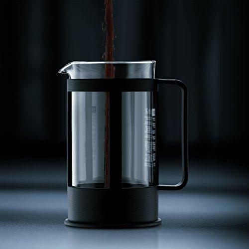bodum 1788 01 kenya cafeti re piston 8 tasses 1 0 l noire int rieur maison. Black Bedroom Furniture Sets. Home Design Ideas