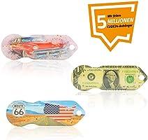 Einkaufswagenlöser Code24 Amerika, Schlüsselanhänger mit Einkaufschip & Schlüsselfinder, inkl. Registriercode für...