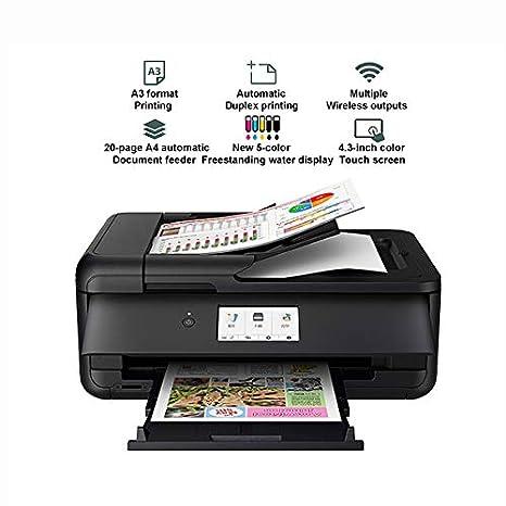 TANCEQI Impresora de Tinta Multifunción (5 Colores, Tinta ...