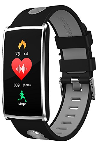 Fitness Tracker Watch Activity Tracker Smart Bracelet Touch Color Screen Heart Rate Blood Pressure Sleep Monitor Bluetooth (Best Smart Touch Casual Fitness Trackers)