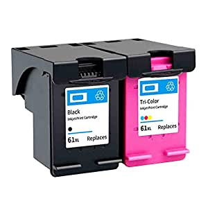 CH563WN CH564WN - Cartucho de tinta compatible con HP 61XL, para ...