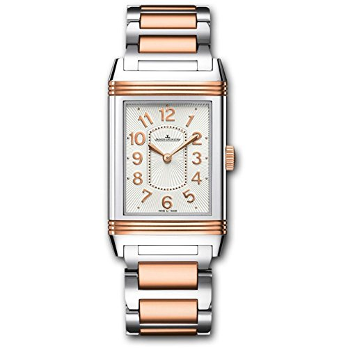 Jaeger LeCoultre Grande Reverso Lady Ultra Thin 18K Rose Gold & Stainless Steel ref: ()