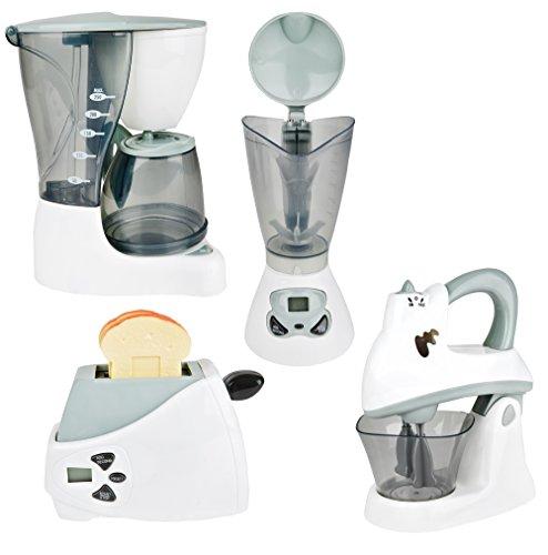 CP Toys Pretend Play Action Fun Appliances 4 Pc. Set For Toy Kitchen