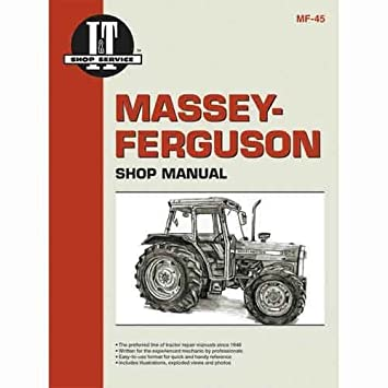 amazon com all states ag parts i\u0026t shop manual massey ferguson 383 International 444 Tractor Wiring Diagram all states ag parts i\u0026t shop manual massey ferguson 383 383 390 390 365 365 390t