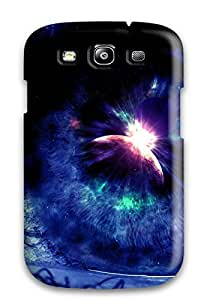 Durable Defender Case For Galaxy S3 Tpu Cover(eye)