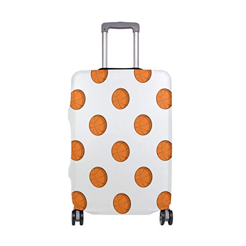 7 Basketball Goal Travel Luggage Protector Case Suitcase Protector For Man&Woman Fits 18-32 Inch Luggage