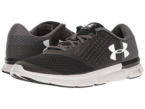 受粉する眉をひそめるいつか[UNDER ARMOUR(アンダーアーマー)] メンズランニングシューズ?スニーカー?靴 UA Micro G Speed Swift 2 Black/Rhino Gray/White 12.5 (30.5cm) D - Medium