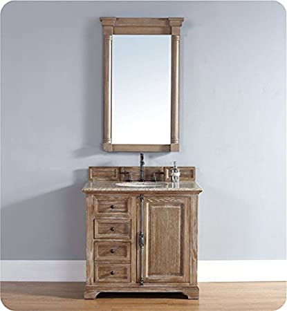 James Martin Providence 60u0026quot; Double Vanity Cabinet, Driftwood