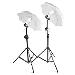 Caltar Photography Photo Video Continuous Lighting Kit