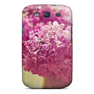 Premium Galaxy S3 Case - Protective Skin - High Quality For Lilac Bloom