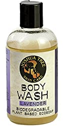 Joshua Tree 8 oz. Body Wash, Shampoo - Biodegradable Plant Based Eco Soap with Organic Ingredients (Lavender)