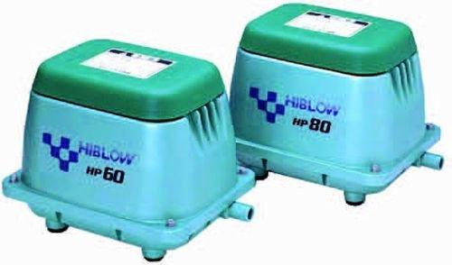 HiBlow Luftpumpe HP-20 18l/min bei 1m, Ausgang 18mm, 17 Watt