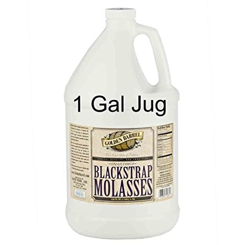 Golden Barrel Unsulfered Blackstrap Molasses (1 Gallon Jug) by Golden Barrel (Image #1)