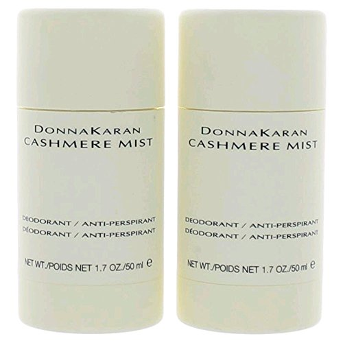 Donna Karan Cashmere Mist Deodorant / Anti-Perspirant 1.7 oz (Qunatity of 2) by Donna Karan