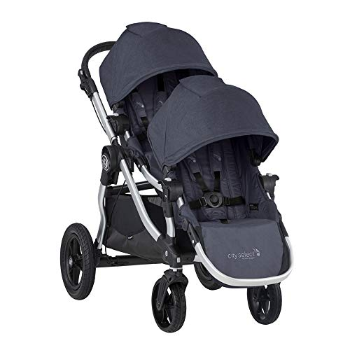 2019 Baby Jogger City Select Double Stroller (Carbon)