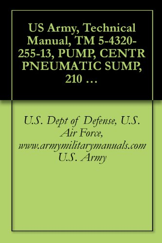 Illustrations Manual Cd - US Army, Technical Manual, TM 5-4320-255-13, PUMP, CENTR PNEUMATIC SUMP, 210 GPM, (INGERSOLL-RAND MODEL 251), military manauals, special forces