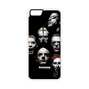 Rammstein iPhone 6 Plus 5.5 Inch Cell Phone Case White xlb-046327
