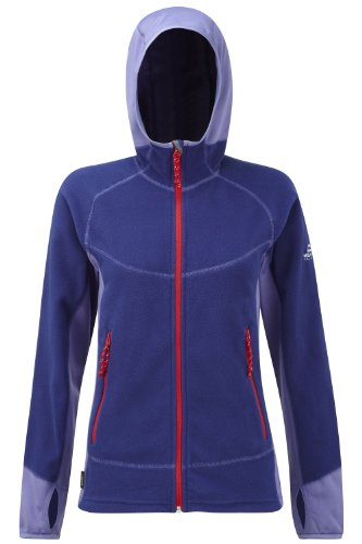 Mountain Damen Kapuzenjacke Jacket Shroud Indigo Equipment Women qwXrAUqZ