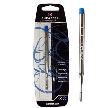 "1 Black Sheaffer® /""K/"" Ballpoint Pen Medium Ball Point Pen BP Refill 1 Blue"