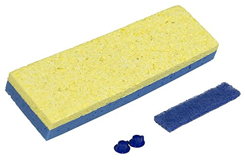 (Quickie Clean Squeeze Sponge Mop Refill - Works on Any Type S Mop (Pack of 2))