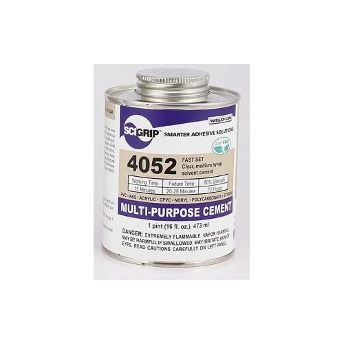 Weld-On 4052 Solvent Cement - Pint