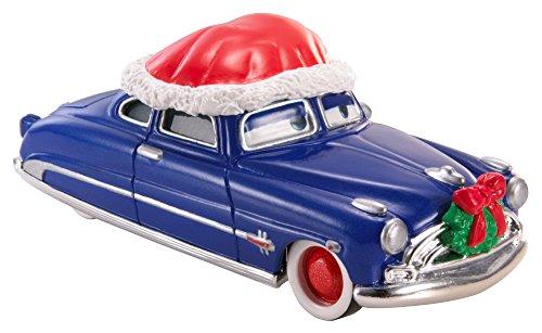 Hudson Santa - Disney Pixar Cars Holiday Diecast Santa Doc Hudson Vehicle