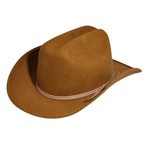 Eddy Bros. Kid Bronco Jr. Hat Pecan One Size Fits Most
