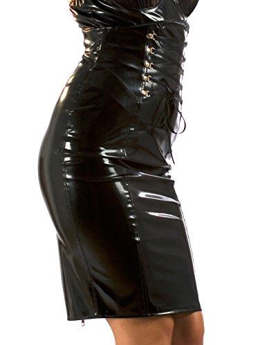 en Jupe Senorita PVC Noir Honour 1Zxw0qEUZ