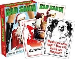 Bad Santa Christmas Playing Cards by Aquariusの商品画像