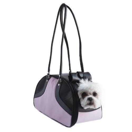 Petote Roxy Pet Carrier Bag, Pink, Large