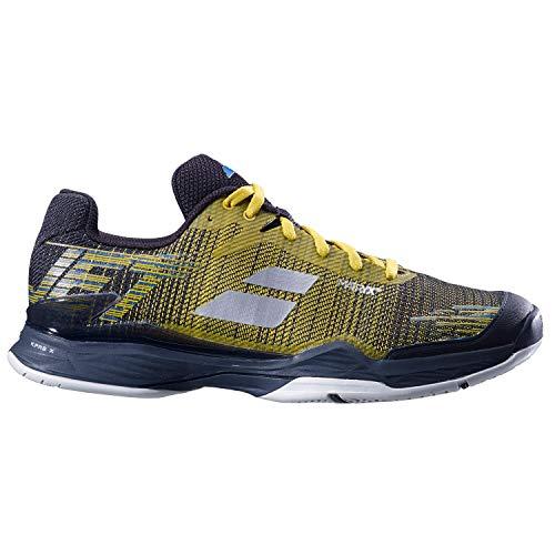 Jet Jaune Doré Noir 40 Tennis 5 Hommes Babolat Mach Chaussure Allcourt Ii Terrain De Tout Chaussures 4qWR5xw