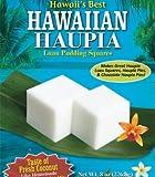Kauai Tropical Syrup Hawaiian Haupia Luau Pudding Squares, 8 Ounce
