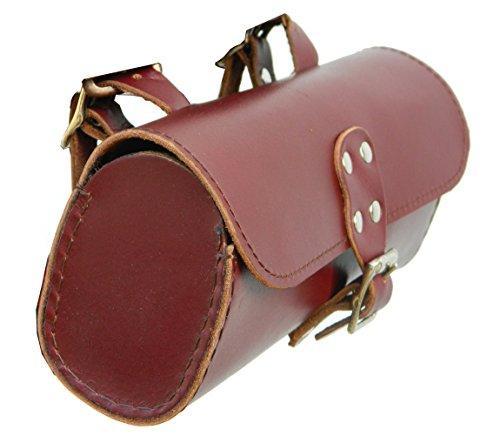 - Herte Genuine Leather Bicycle Saddle Bag Utility Tool Bag Chery