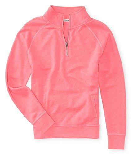 Aeropostale Womens Quarter Zip Sweatshirt