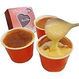 Bon'n'Bon(ボナボン) レンジでチン あったかとろける 新食感 スフレ チーズケーキ 「チーズココ」×3個(100gx3) ギフトボックス入り