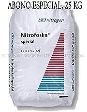 Suinga ABONO Especial Nitrofoska 12+12+12+2+MG+S+B+Zn. 25 Kilos. Recomendado para cítricos y jardín.