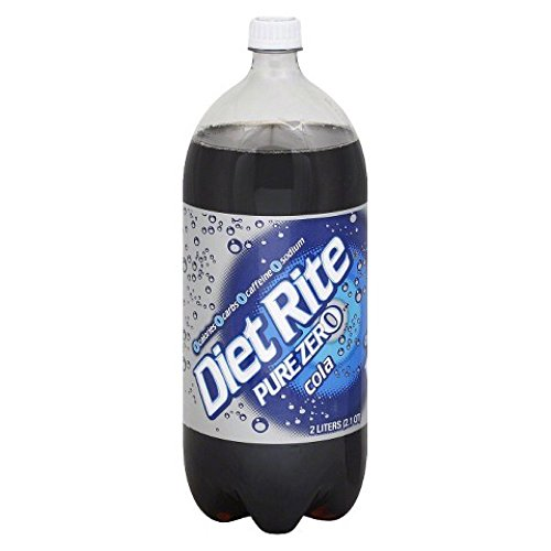 Diet Rite Pure Zero Cola 2 Liter Bottle Pack Of 6 Buy
