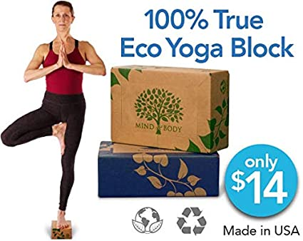 Amazon.com : Eco Yoga Block, Healthy for You and The ...